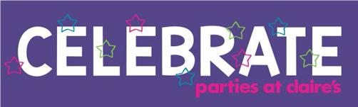 CELEBRATE .... parties at Claire's !